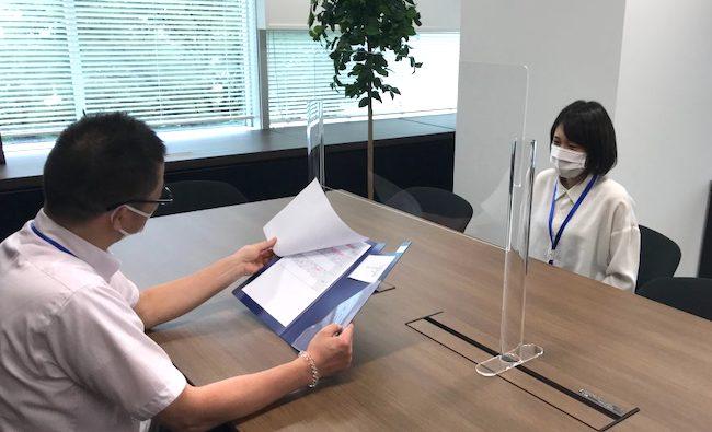 東京中国語通訳 人事面談