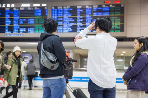 中国人観光客インタビュー